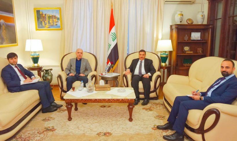 Встреча с новым Послом Ирака в России