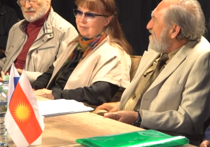 Телепрограмма  «Круглый стол «Геноцид езидов в прошлом, настоящем и пути его предотвращения в будущем»